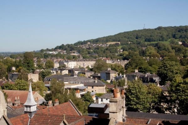 Views from No 1 The Paragon, Bath